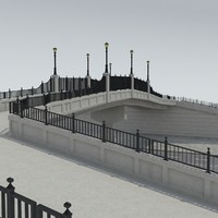 fbx pedestrian bridge