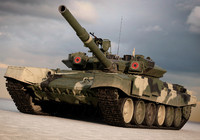 3d t90s russian tanks