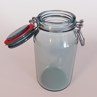 sealed jar 3d max