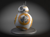 star wars droid 3d model