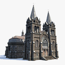 cathedral 3D models