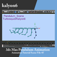 Pendulum Animation Tutorial 07