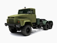 kraz 260 3d model