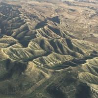 3d large scale utah terrain model