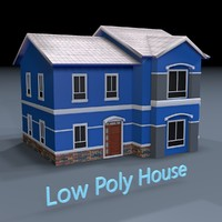 Low Poly Residential Houses