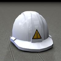worker helmets 3d 3ds