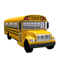 school bus 3ds