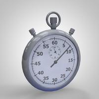 3d model stopwatch