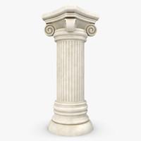 column 01 3d max