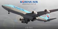 3d 3ds boeing 747-8 korean air