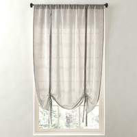 sheer linen-cotton tie-up shade 3d max