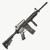3d model modular m4a1 carbine m4
