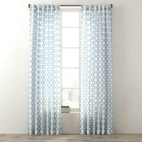curtains ogee lattice drapery 3d max