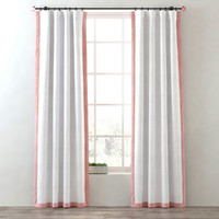 curtains bordered cotton canvas max