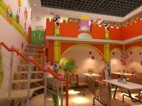 3d max kindergarten interior