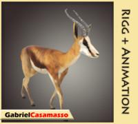 antelope gazelle fbx