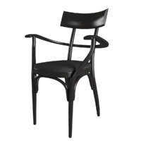 3d model hermann czech chair