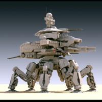 mech annihilator 3d model