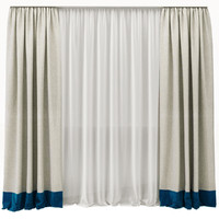 simple curtains 3d max