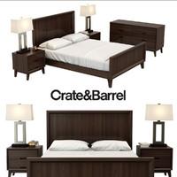 3d model bedroom steppe