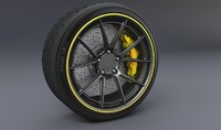 Disc brake - tire