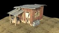 casa abandonada 3d model
