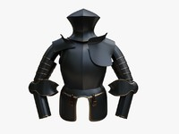 3d armour model