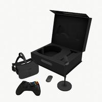 3d oculus rift package model