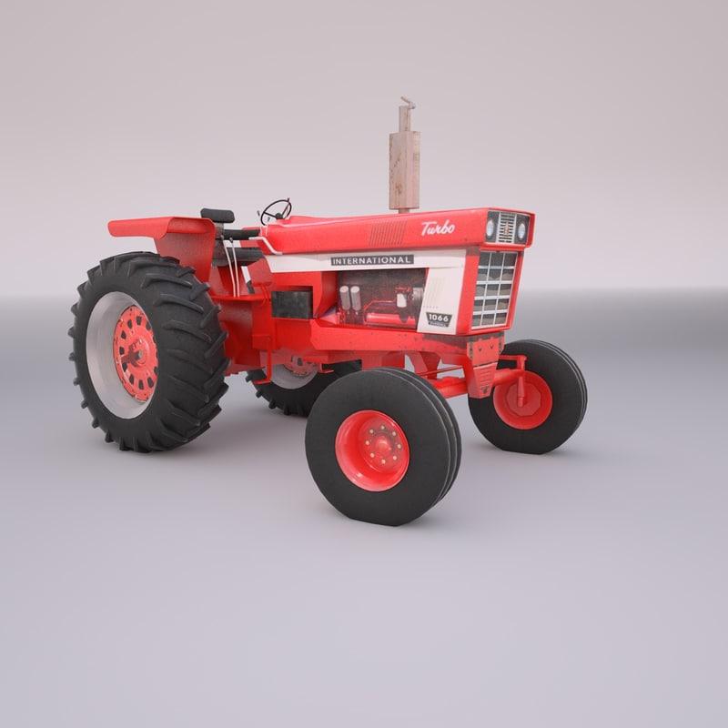Farmall Tractor Models : D international farmall tractor model