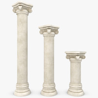 column 01 3 sizes 3ds
