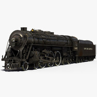 locomotive 3D models