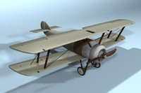 Airplane aircraft low poly