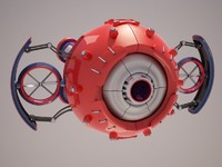 3d model robot d37m701