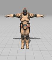 space soldier fbx