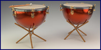 great symphonic timpani obj