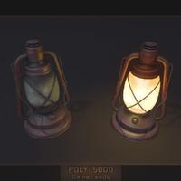 old lantern 3d max