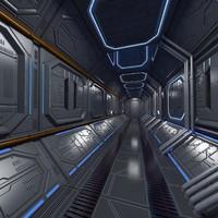 SciFi Corridor Interior