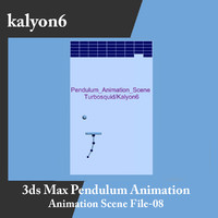 Pendulum Animation Scene File 08