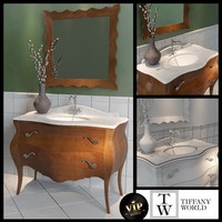 Washbasin Tiffany World Barocco decor