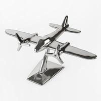 3d model plane statuette