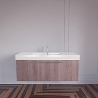 3d model of vero sink duravit
