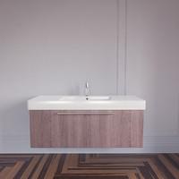 3d model of vero sink duravit