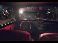 3d model car zaz