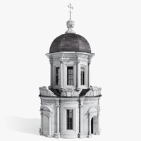 orthodox chapel 3d max