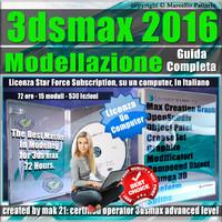 Corso 3ds max 2016 Modellazione Guida Completa 1 Mese Subscription