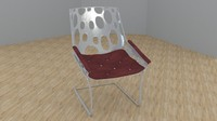 designe chair 3d model