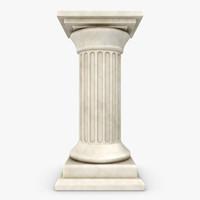 3d model of column 02
