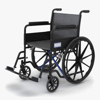 3d wheelchair generic model