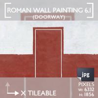 Roman Wall Painting Scheme 6.1
