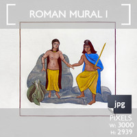 Roman Mural 1